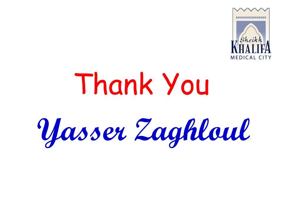 Thank You Yasser Zaghloul
