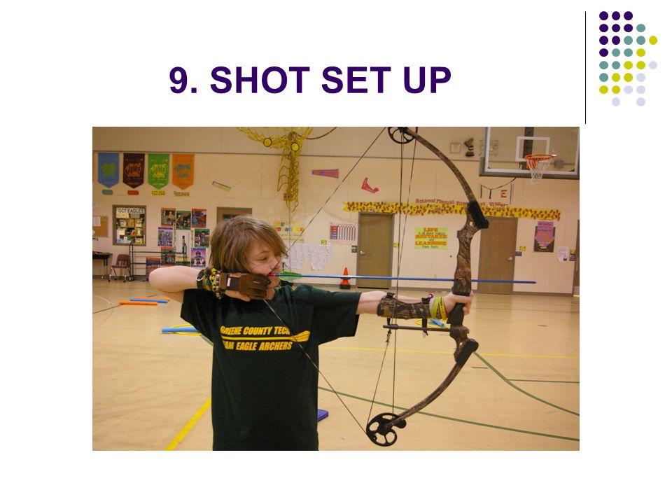 9. SHOT SET UP