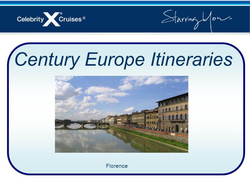 Century Europe Itineraries Florence