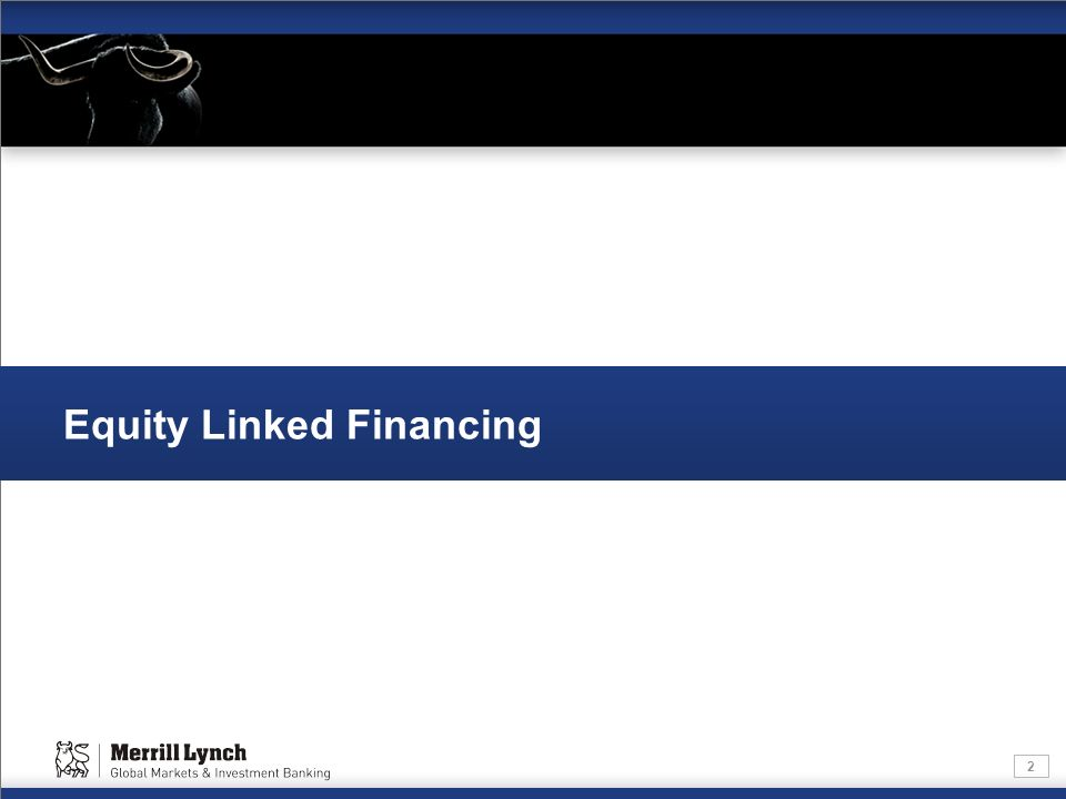 2 Equity Linked Financing