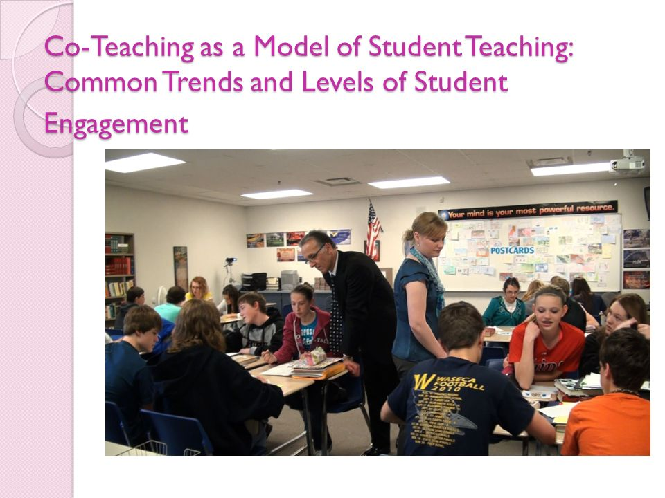 Co-Teaching as a Model of Student Teaching: Common Trends and Levels of Student Engagement Co-Teaching as a Model of Student Teaching: Common Trends a