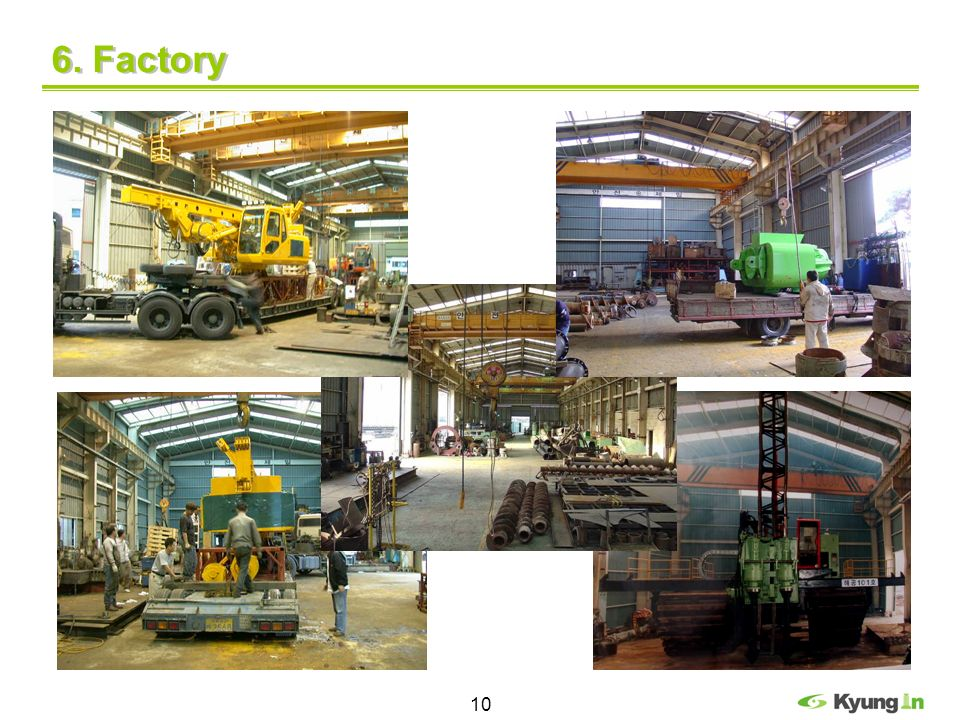 10 6. Factory