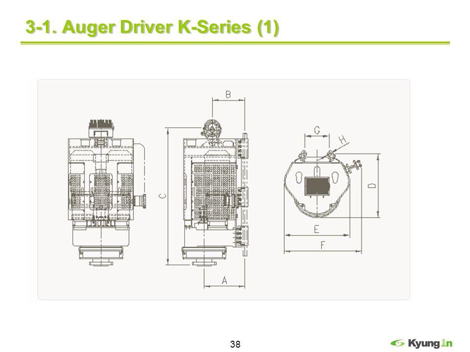 38 3-1. Auger Driver K-Series (1)