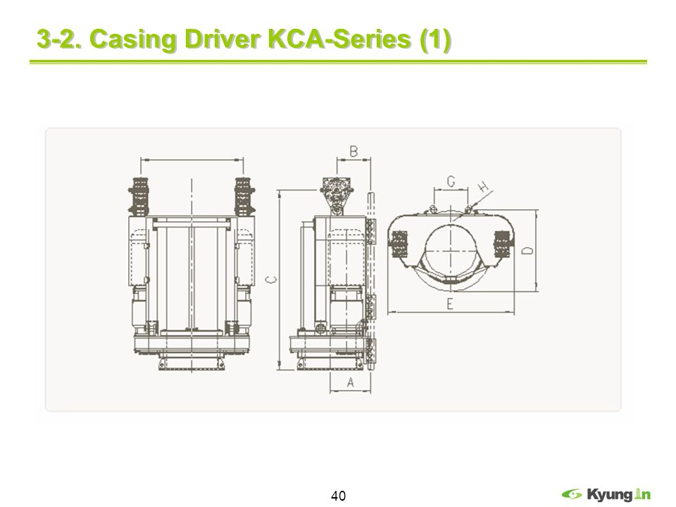 40 3-2. Casing Driver KCA-Series (1)