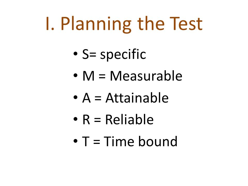 TABLE OF SPECIFICATION - test – blueprint - a two-way grid in which the objectives to be developed are assigned to the columns or rows and the major areas of content are assigned to rows/columns.