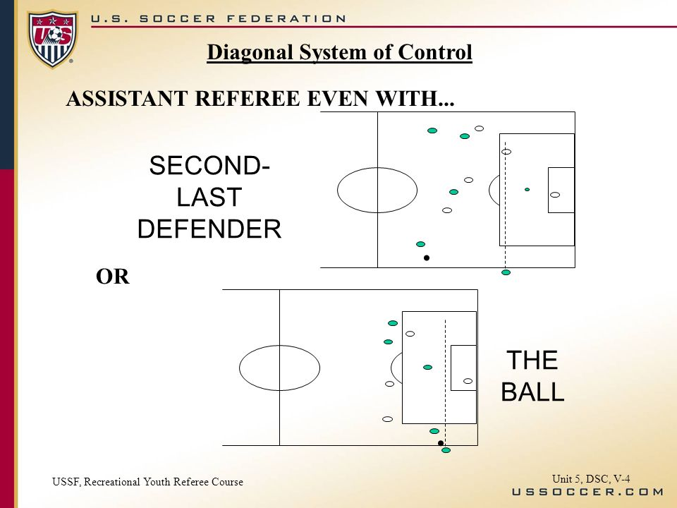 ASSISTANT REFEREE EVEN WITH.....