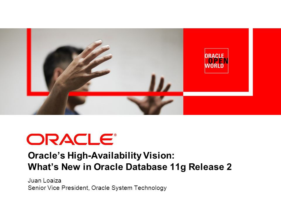 3 Oracle High Availability Architecture 1.Scale-Out & Low-Cost – High-volume hardware – All components active 2.Application Oriented – Protect and recover application objects – Enable online application changes 3.Integrated & Simple – Availability integrated into all components – Automated 4.Complete & Open – Handles all planned and unplanned downtime – Pluggable components