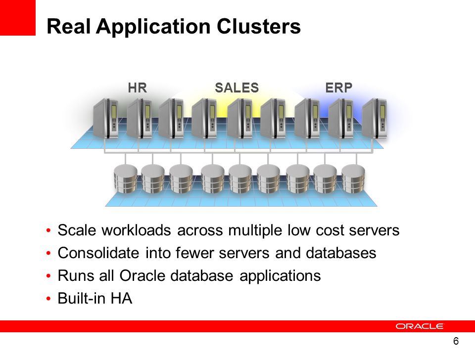 7 A virtualized single instance database – Omotion - live migration of instances across servers Move services, then shutdown transactional – Built-in cluster failover for high availability Better than OS level virtualization – Rolling database patches – Manage fewer Operating Systems 10 DBs on a node does not mean 10 Operating Systems to manage – Rolling OS upgrades New in 11.2 RAC One Node Virtualization Benefits for Oracle Databases