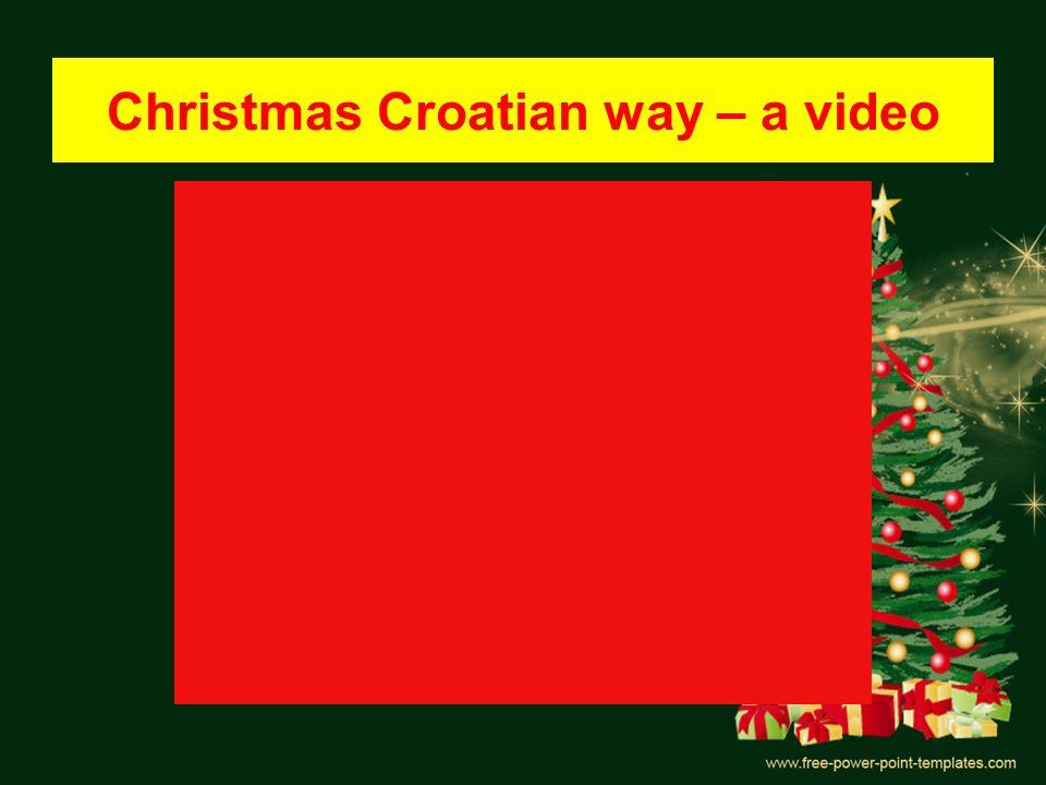 Christmas Croatian way – a video