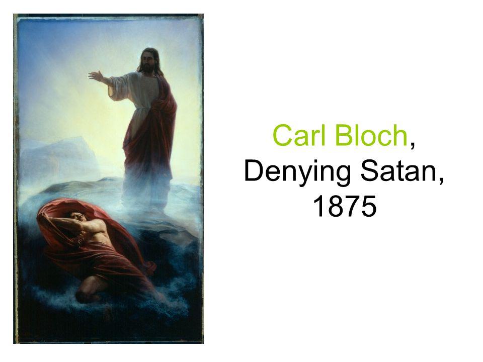 Carl Bloch, Denying Satan, 1875