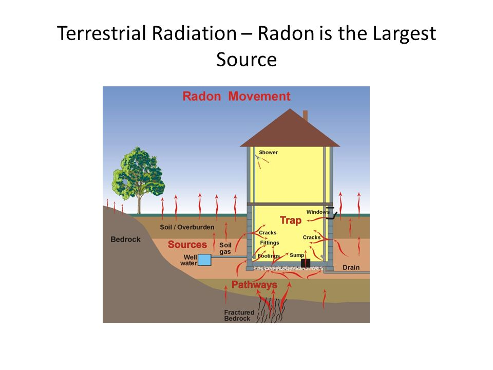 Terrestrial Radiation – Radon is the Largest Source