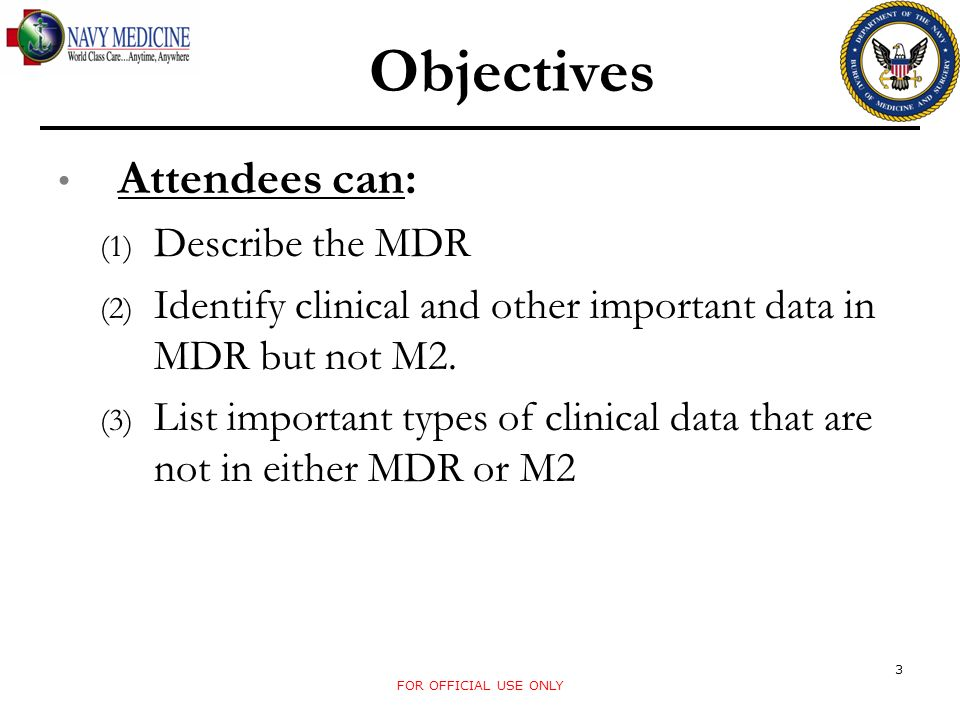 CDR Data Retention Project However, the data problems in CDM were not publicized and many users were reliant upon it.