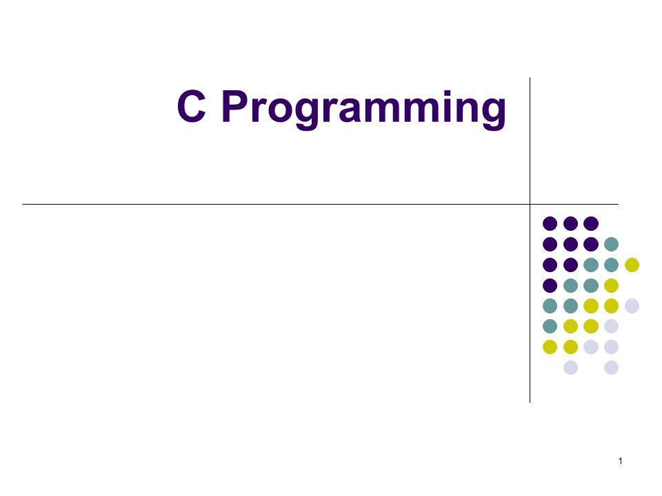 1 C Programming