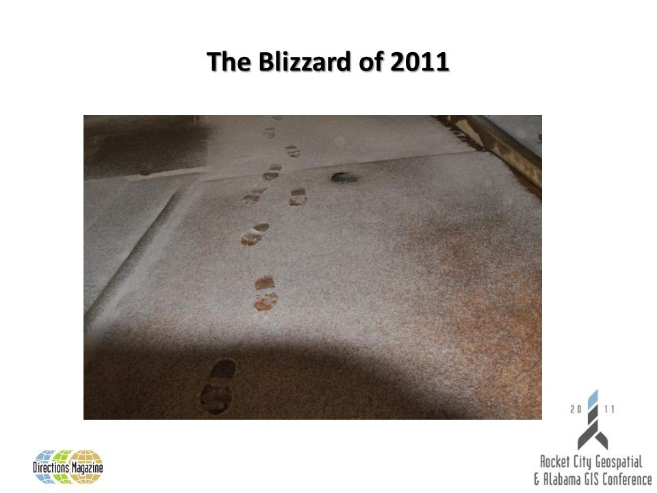 The Blizzard of 2011