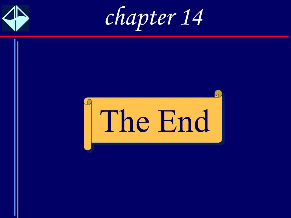 23 The End chapter 14