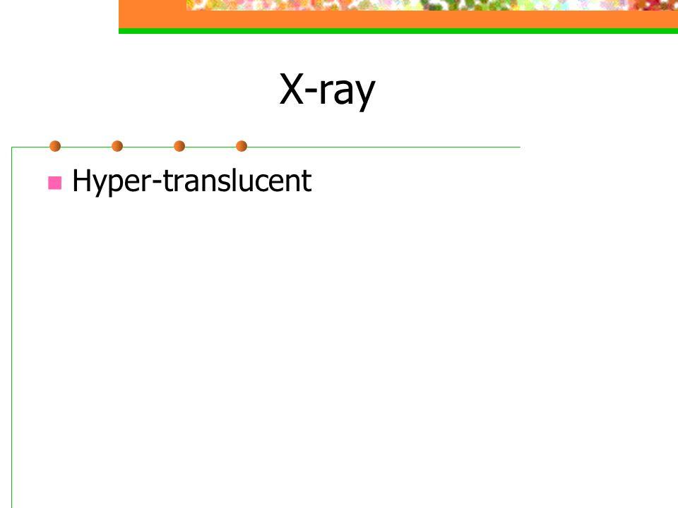 X-ray Hyper-translucent
