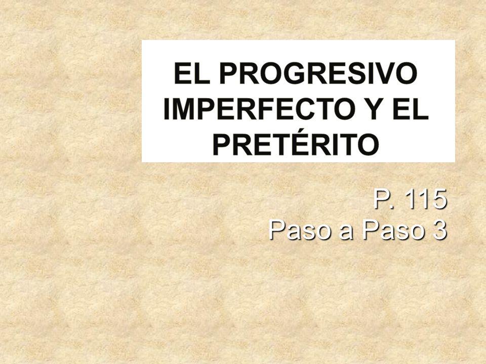P. 115 Paso a Paso 3