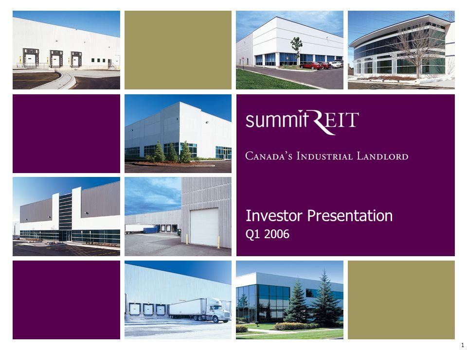 1 Investor Presentation Q1 2006