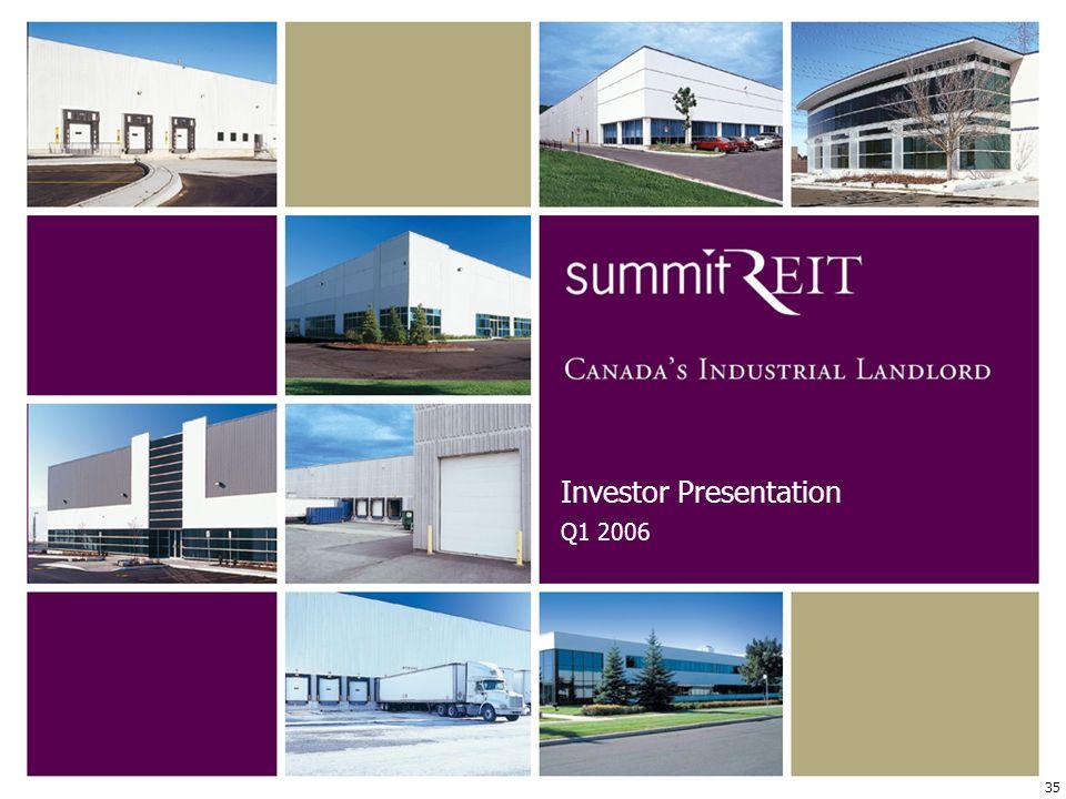 35 Investor Presentation Q1 2006
