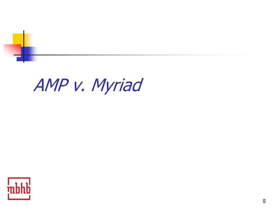 8 AMP v. Myriad