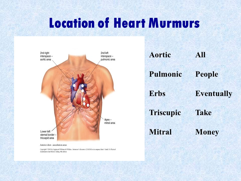 Aortic Pulmonic Erbs Triscupic Mitral All People Eventually Take Money