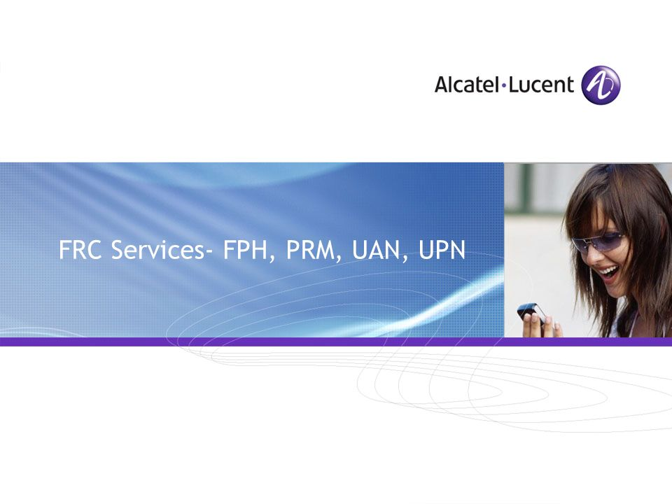 All Rights Reserved © Alcatel-Lucent 2009 Account Calling Card- Comparison with VCC 1.Possibility to refill the account by using the deposit feature 2