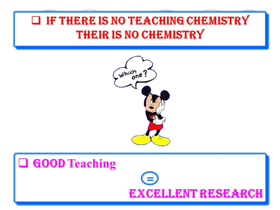 - The success of the systemic approach to teaching organic chemistry was established by using an experimental group, which was taught systemically, and a control group, which was taught in the classical linear manner[12].