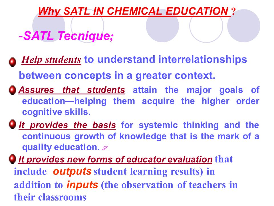 What is the meaning of SATL.