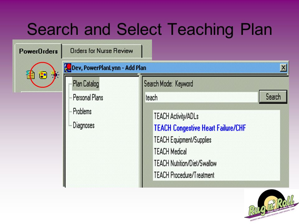 Search and Select Teaching Plan