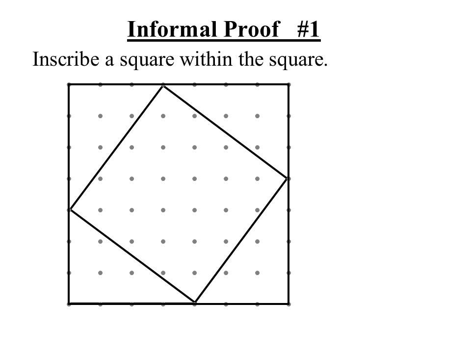 a b a a a b b b c c c c Informal Proof #1