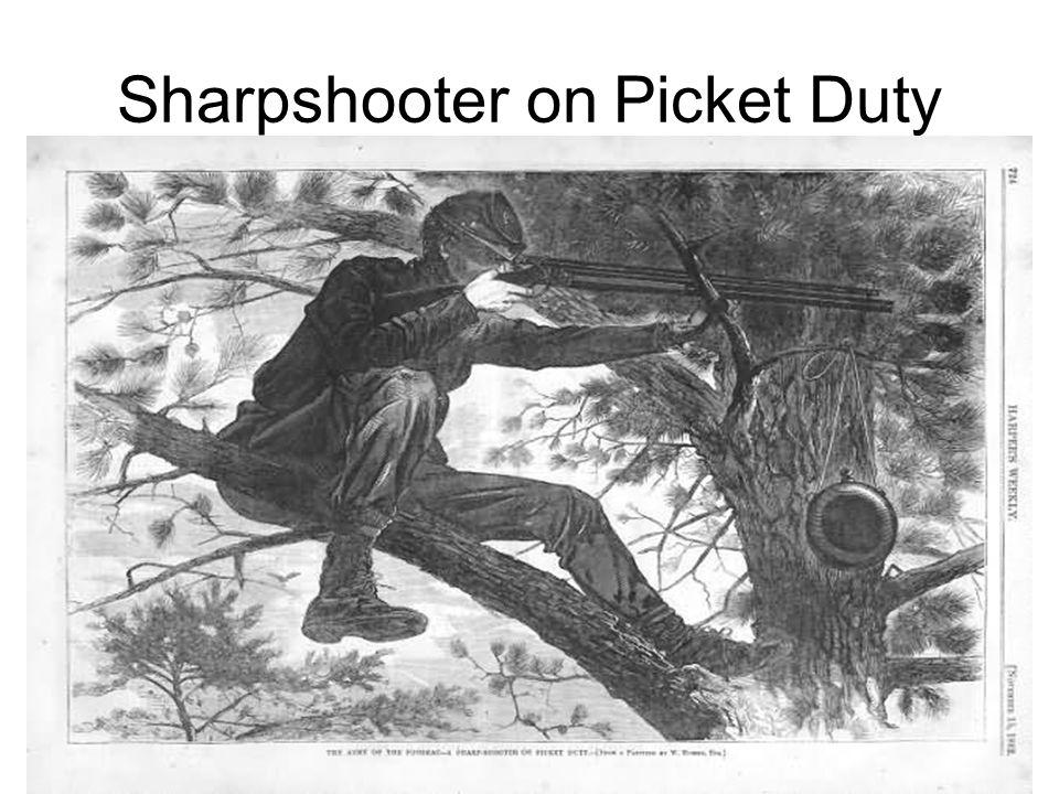 Sharpshooter on Picket Duty