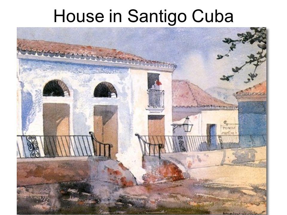 House in Santigo Cuba