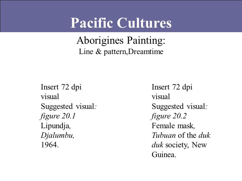 Aborigines Painting: Line & pattern,Dreamtime Insert 72 dpi visual Suggested visual: figure 20.1 Lipundja, Djalumbu, 1964. Insert 72 dpi visual Sugges