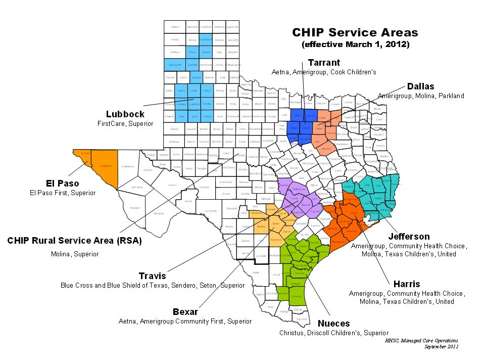 Page 33 CHIP Service Areas Page 33