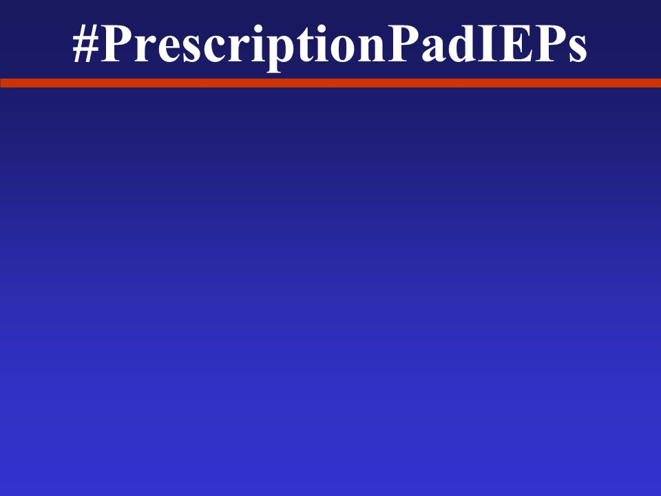 #PrescriptionPadIEPs