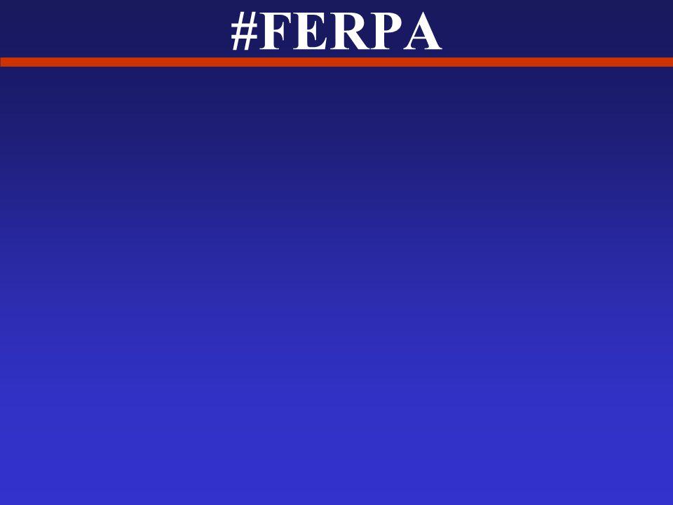 #FERPA