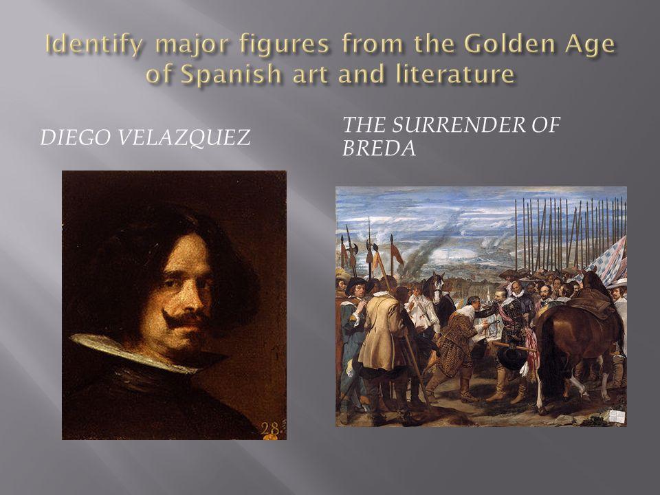 DIEGO VELAZQUEZ THE SURRENDER OF BREDA