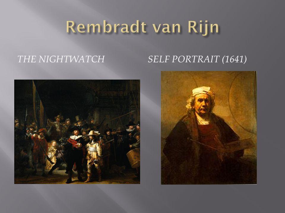 THE NIGHTWATCHSELF PORTRAIT (1641)