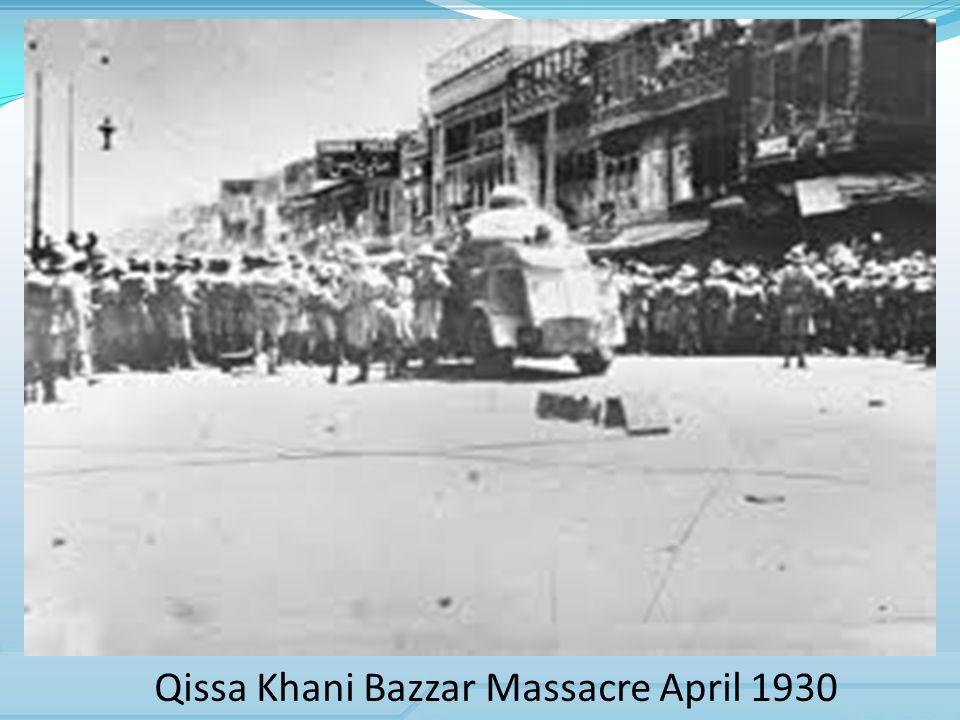 Qissa Khani Bazzar Massacre April 1930