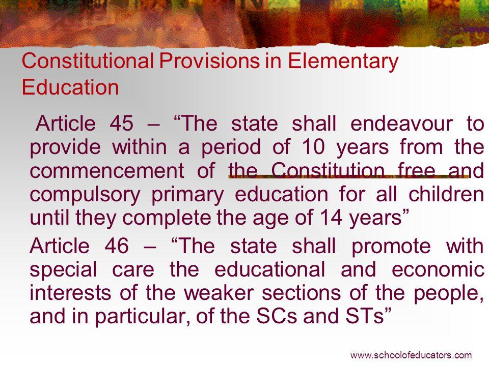 Elementary Education Under Five Year Plans in India N. K. Mohanty nkmohanty@nuepa.org nkmohanty@gmail.com www.schoolofeducators.com