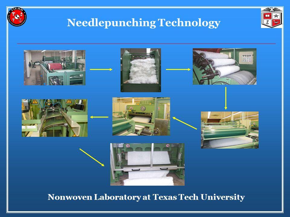Needlepunching Technology Nonwoven Laboratory at Texas Tech University