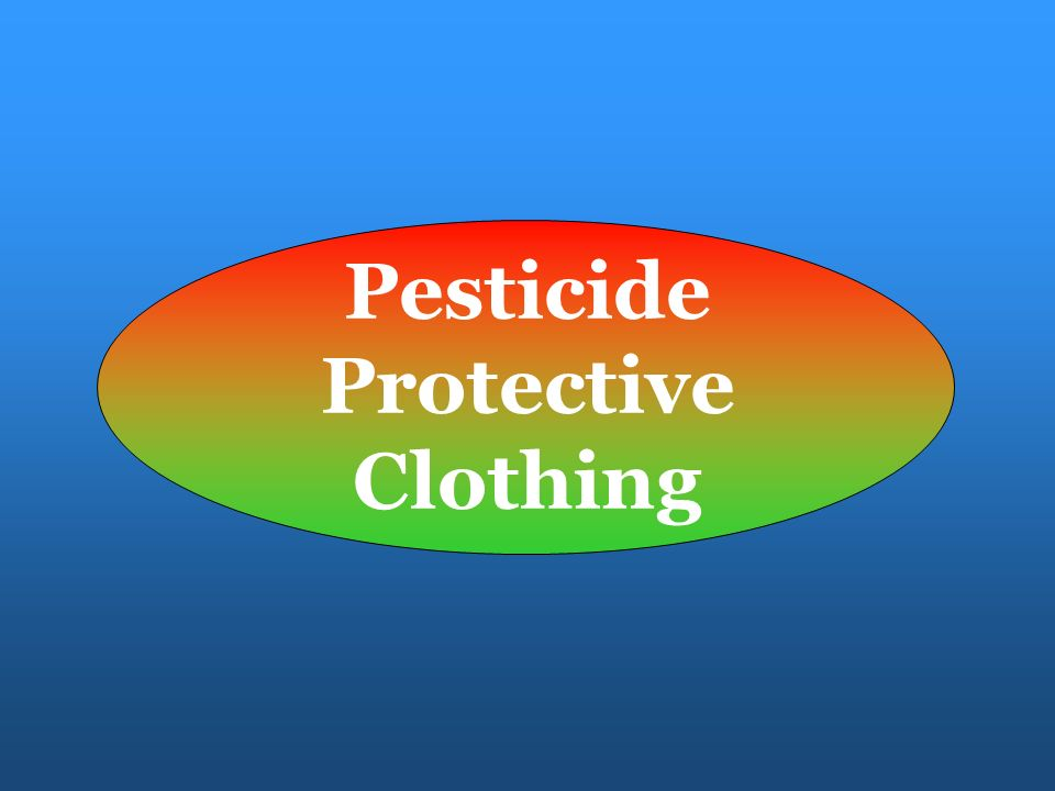 Pesticide Protective Clothing