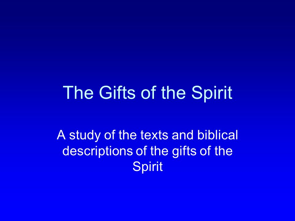 Principles from 1 Cor 12:1-3 :1 Now about spiritual gifts, brothers, I do not want you to be ignorant.