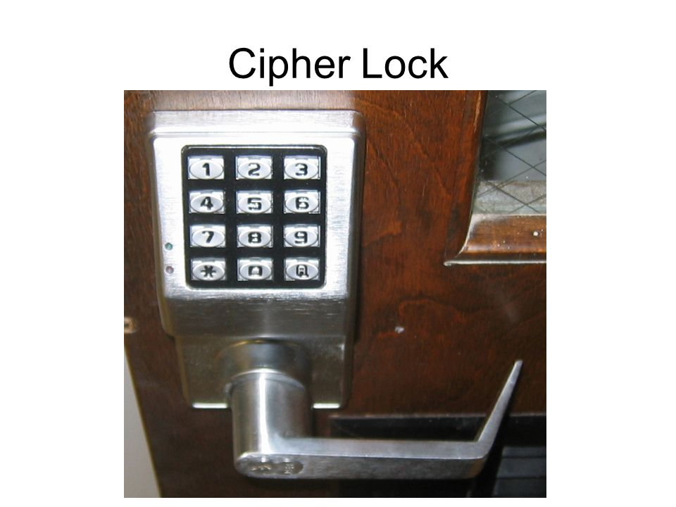 Cipher Lock