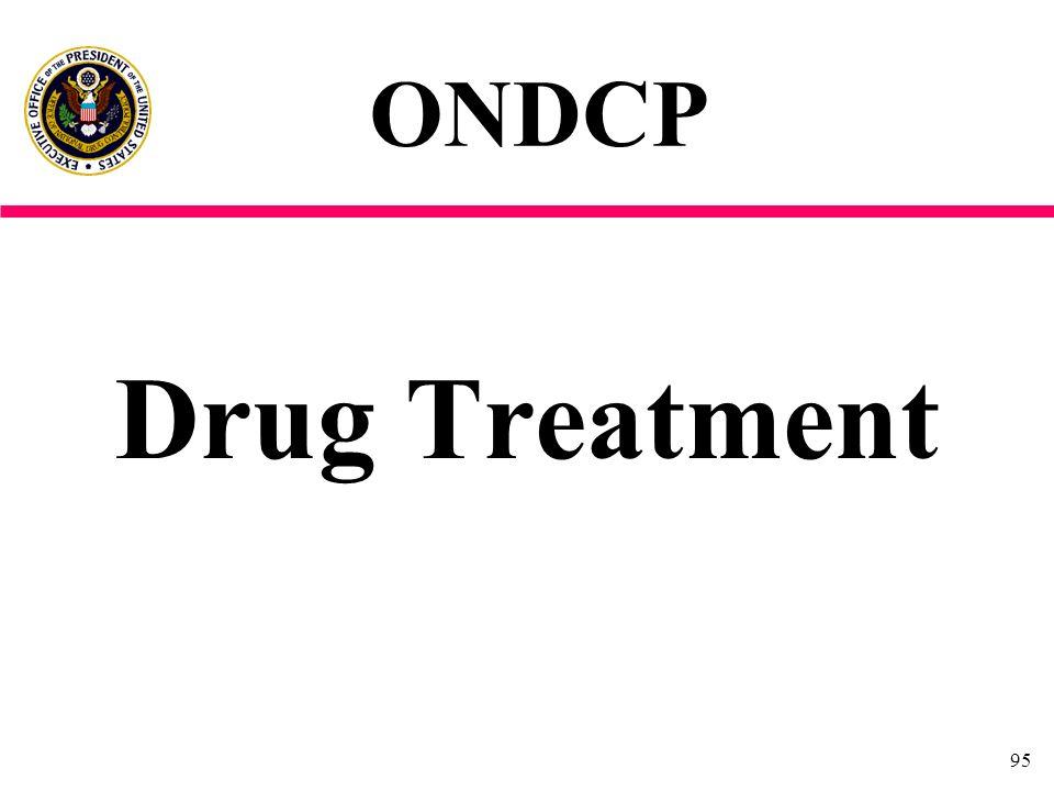 95 Drug Treatment ONDCP