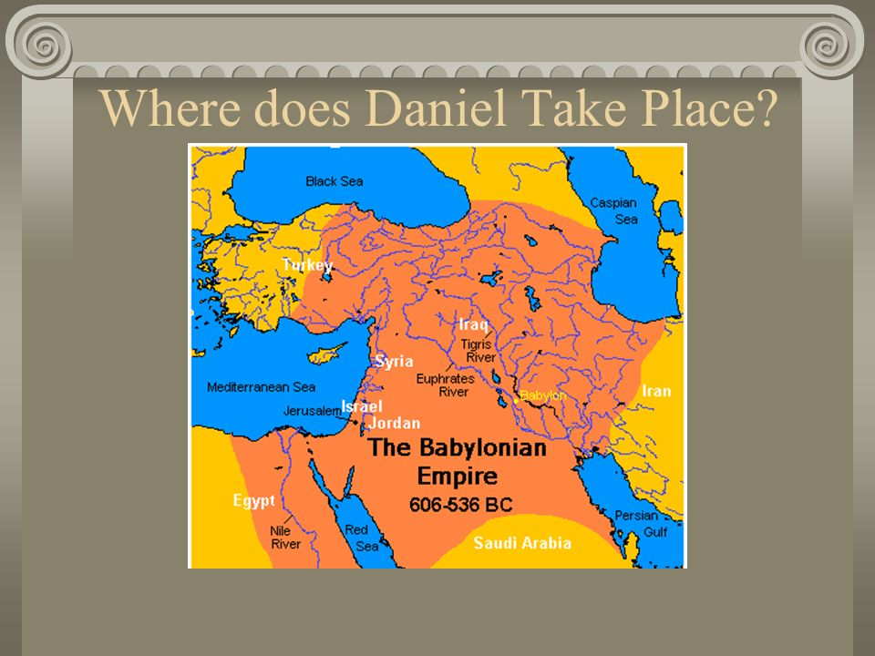 Historical Setting of Daniel Ilumina Time Line