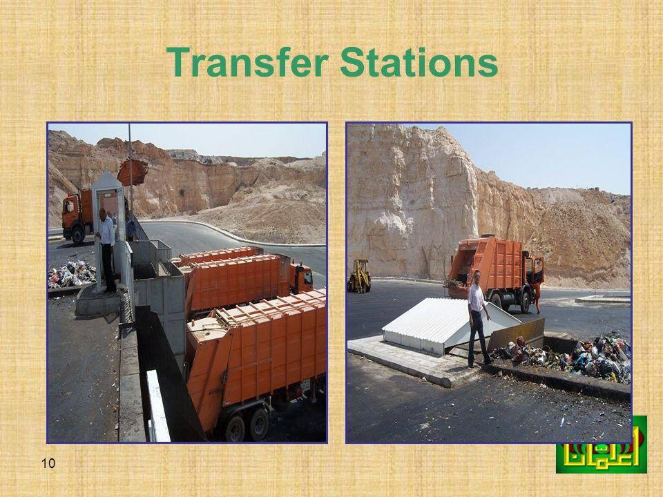 10 Transfer Stations