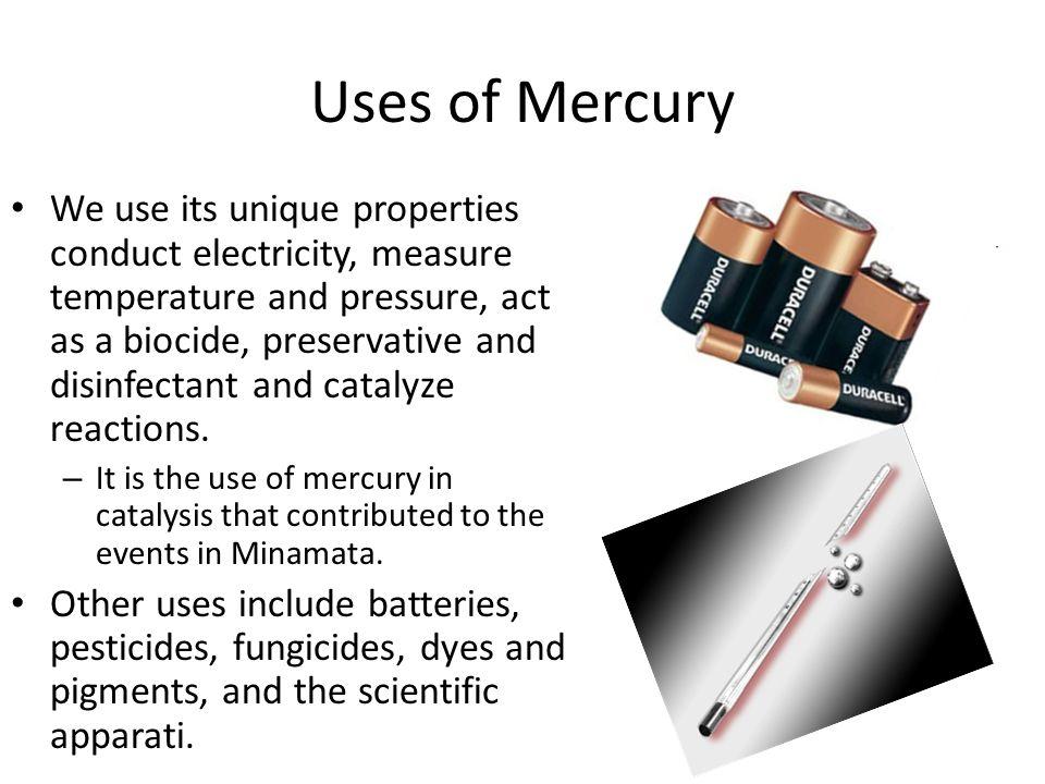 Mercury Chemistry Mercury exists in three oxidation states: – Hg 0 (elemental mercury). – Hg 2 2+ (mercurous). – Hg 2+ (mercuric). Mercurous and mercu