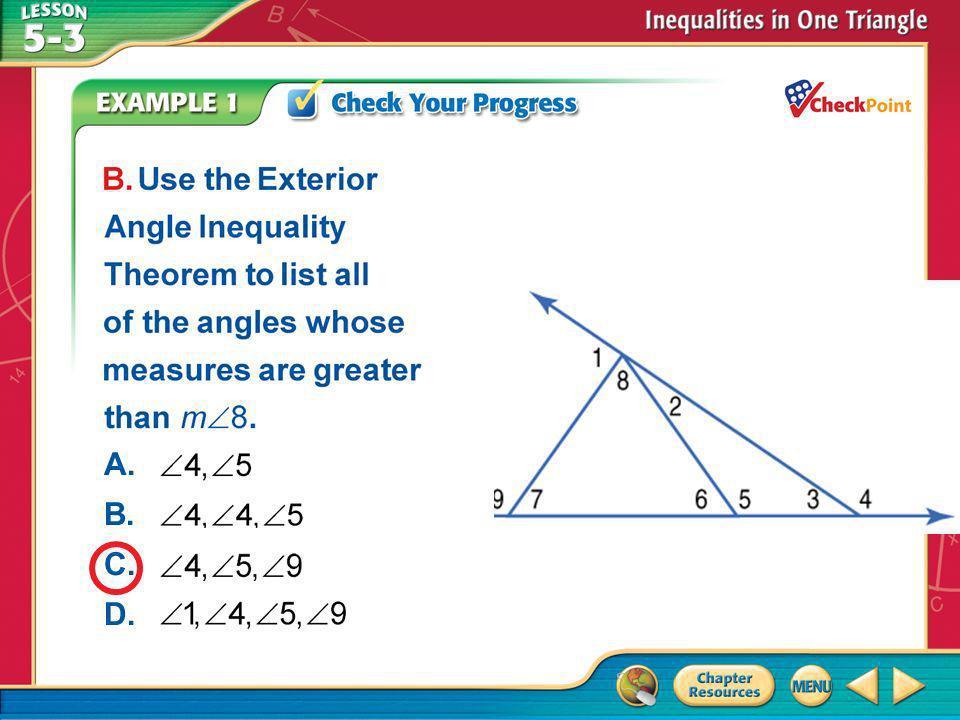 A.A B.B C.C D.D Example 1 A. B. C. D.