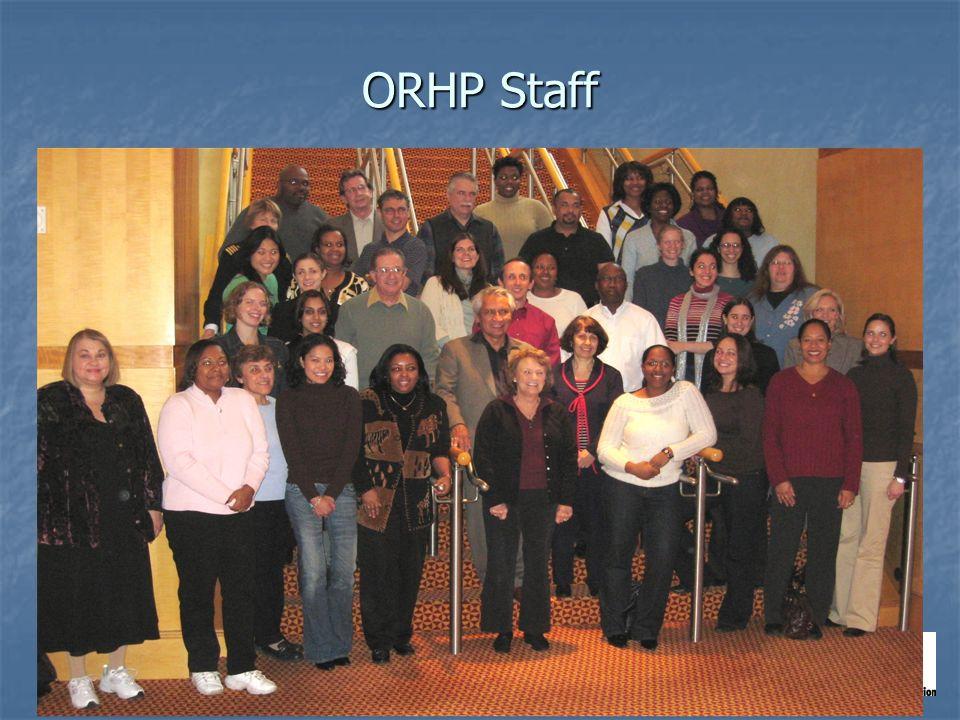 ORHP Staff